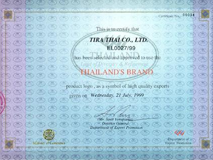 Thailand's Brand
